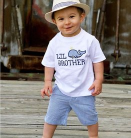 RUGGED BUTTS Rugged Butts Whale Lil' Bro Tee
