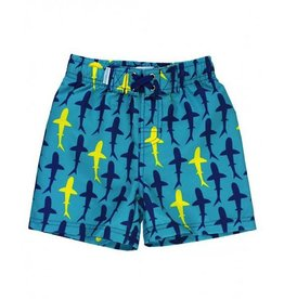 RUGGED BUTTS Rugged Butts Splashing Sharks Swim Trunks