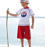RUGGED BUTTS Rugged Butts Nautical Swim Trunks