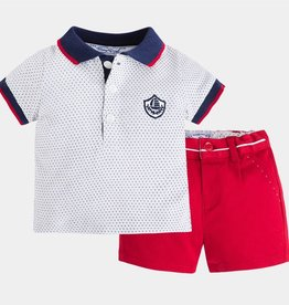 Mary Meyer Mayoral Red Shorts Set