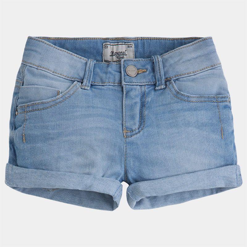 MAYORAL Mayoral Bleached Basic Denim Shorts