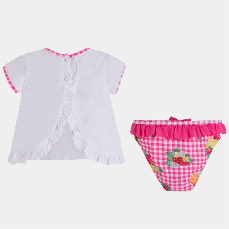MAYORAL Mayoral Girl's Bathsuit Set w. Hat