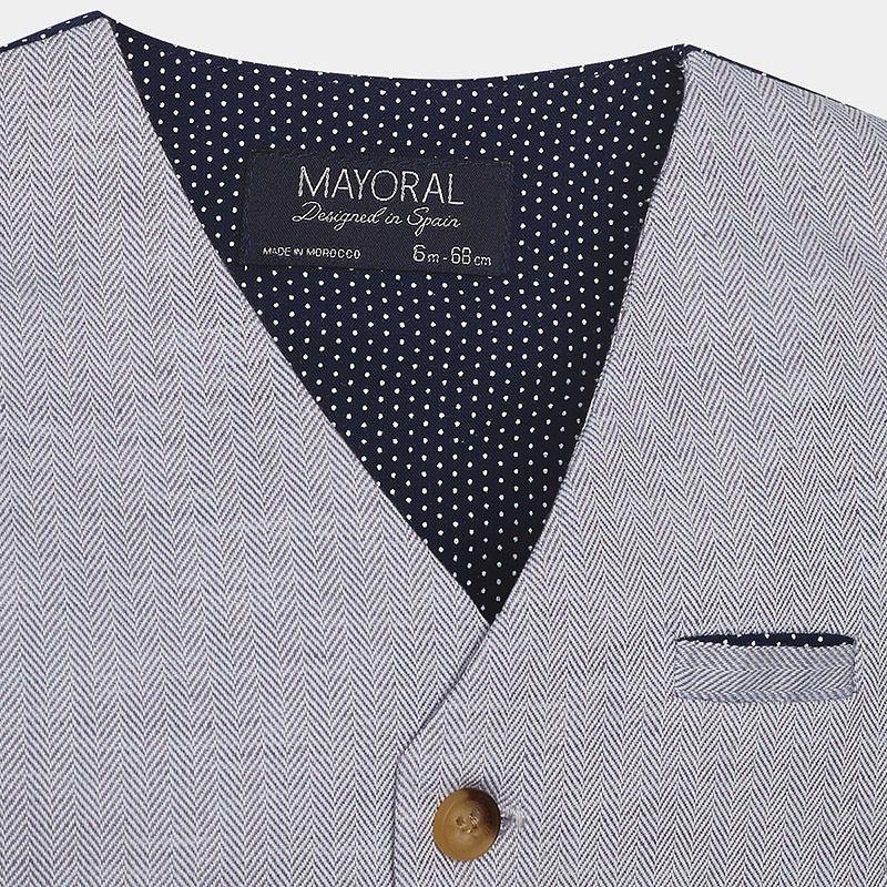MAYORAL Mayoral Linen Vest