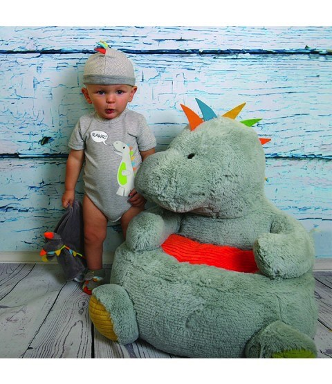 Stephan Baby Plush Dinosaur Chair