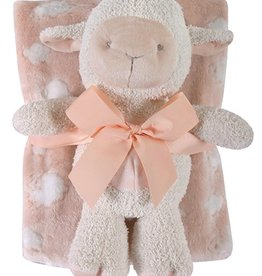 Stephan Baby Blanket w. Toy Lamb Set
