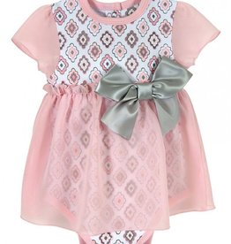 Stephan Baby Diamond Flowers Dress