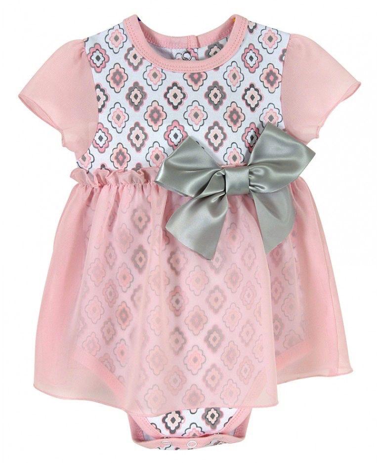 Stephan Baby Diamond Flowers Dress