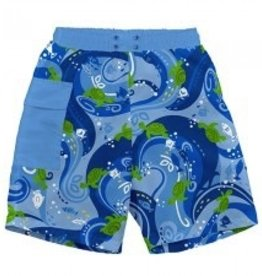 I Play I Play Tropical Pocket Trunks w. Reusable Absorbant Swim Diaper