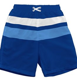 I Play I Play Classic Color Blocked Trunks w. Reusable Absorbant Swim Diaper