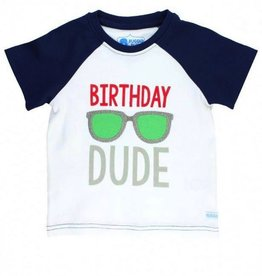 RUGGED BUTTS Rugged Butts Birthday Dude Raglan Tee