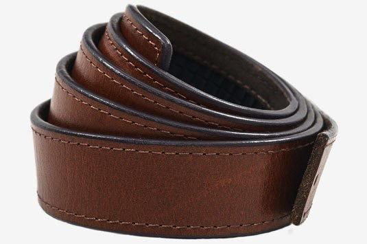 SlideBelts SlideBelts Walnut Top Grain Leather Belt