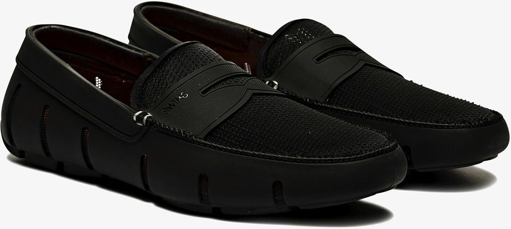 Swims Swims Black Penny Loafers