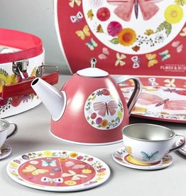 Floss & Rock Floss & Rock 9PC Butterfly Tea Set (Tin)