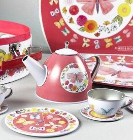 Floss & Rock Floss & Rock 9PC Butterfly Tea Set (Tin)