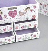 Floss & Rock Floss & Rock Fairy Blossom Jewelry Box
