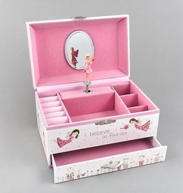 Floss & Rock Floss & Rock Fairy Music Jewelry Box