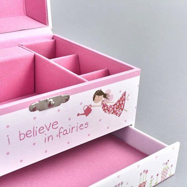 Floss & Rock Floss & Rock Fairy Music Jewelry Box