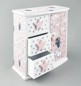Floss & Rock Floss & Rock Party Animals 3 Drawer and Door Wardrobe