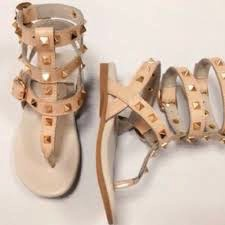 AZ Kids Boutique Rockstud Gladiator Sandals