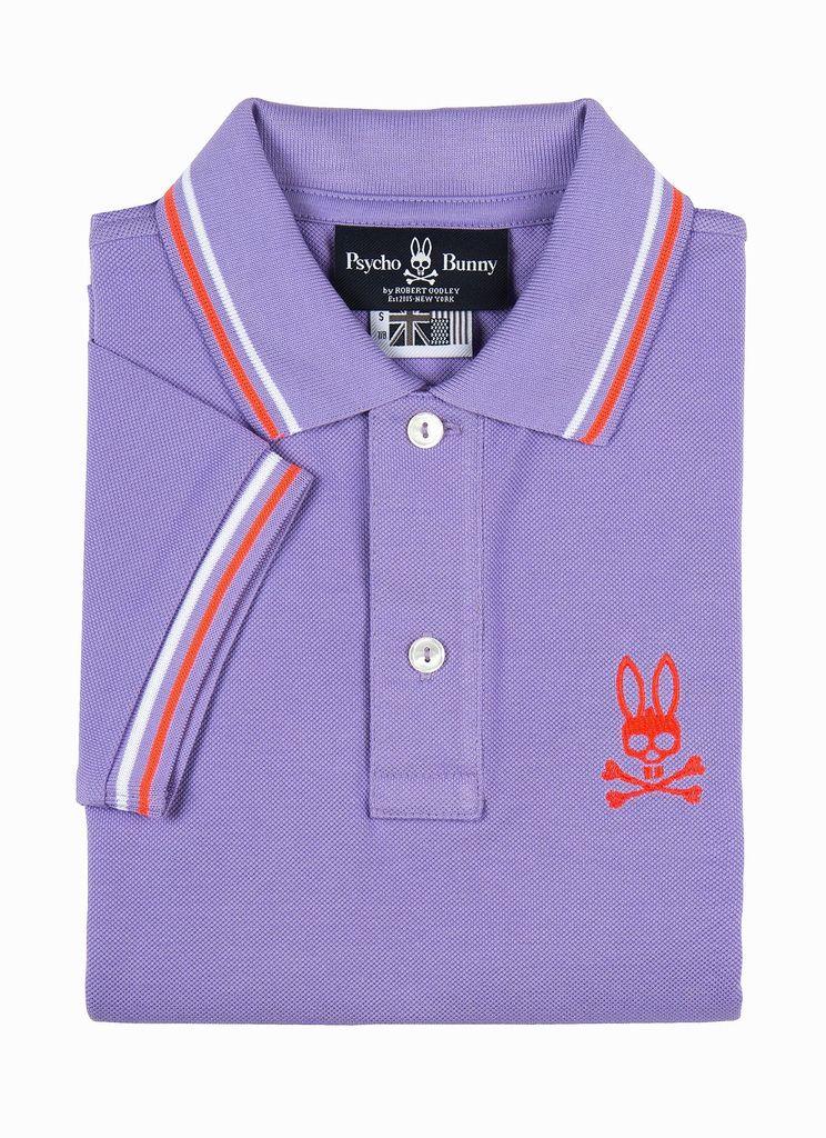 Psycho Bunny Psycho Bunny Boy's Neon Bunny Polo