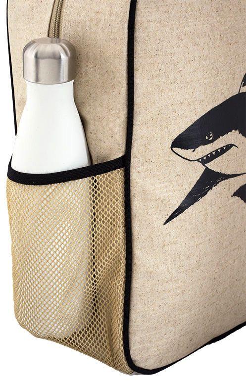 SoYoung SoYoung Black Shark Gradeschool Backpack Raw Linen