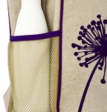SoYoung SoYoung  Purple Dandelion Gradeschool Backpack Raw Linen
