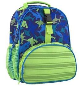 Stephen Joseph Stephen Joseph All Over Shark Print Mini Backpack