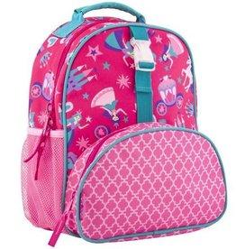 Stephen Joseph Stephen Joseph All Over Princess Print Mini Backpack