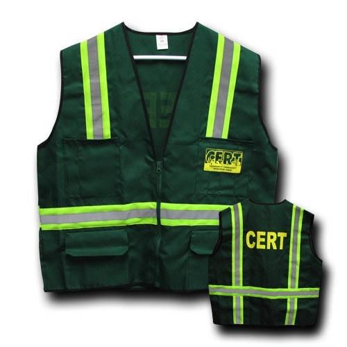 MAYDAY Vest, 6 Pocket, Large, C.E.R.T.