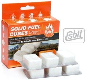 Esbit Solid Fuel Cubes, Esbit, 12 Pack
