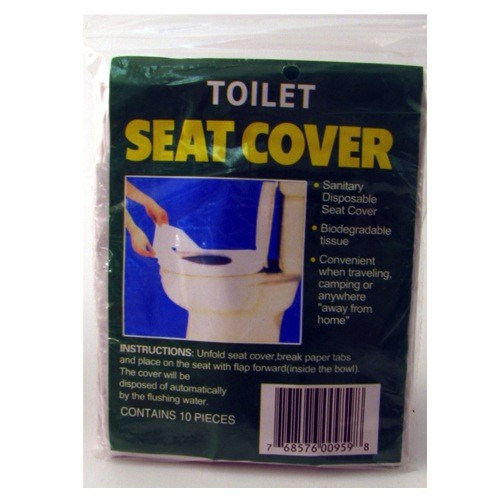 MAYDAY Toilet Seat Covers, Disposable