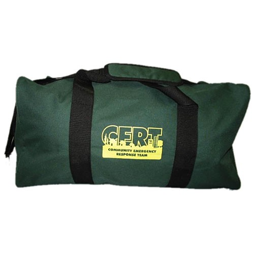 MAYDAY Bag, Duffle, Green, C.E.R.T. Logo