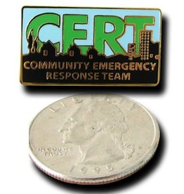 MAYDAY Pin, Stick, Official C.E.R.T.