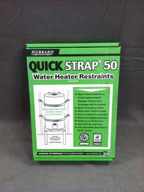 MAYDAY Straps, Water Heater/ Storage Drum