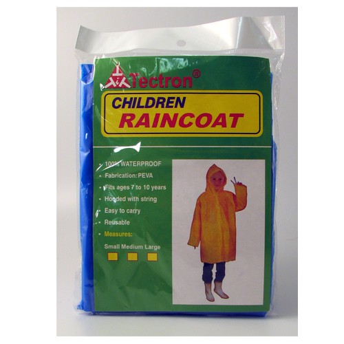 MAYDAY Emergency Poncho with Hood, Children's Size