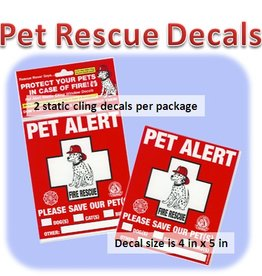 Pet-Pac Pet-Pac, Pet Alert Sticker