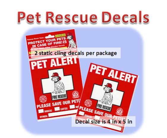 Pet-Pac Pet-Pac, Pet Alert Sticker