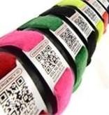 ECOS EID E-ID Sticker, Wrist Band, Green