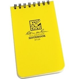 MAYDAY Notebook, All Weather