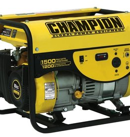 Champion Generator, 1500 Watt, Champion