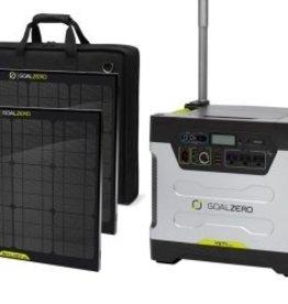 Goal Zero Solar Generator Kit, Yeti 1250