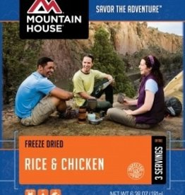 Mountain House Pouch Meals, Rice & Chicken