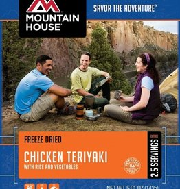 Mountain House Pouch Meals, Chicken Teriaki w/ Rice