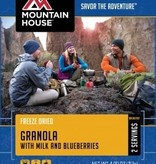 Mountain House Pouch Meals, Granola with Blueberries, 2 Servings, Mountain House