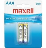 Newtek Supply Inc. Battery, Size AAA, Maxell, 2 Pack