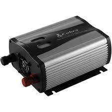 Cobra Power Inverter, 400 Watt, 12VDC-110VAC, Cobra