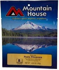 Mountain House Freeze Dried Meals, Pro-Pak Pouch, Pasta Primavera, Mountain House