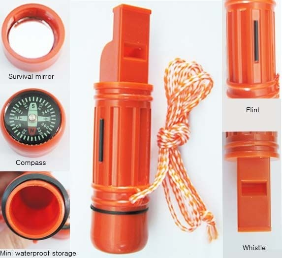 SNR Whistle, Survival, 5-in-1