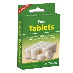 Coghlan's Fuel Tablets, 24 Pack, Coghlans