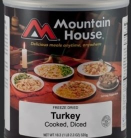 Mountain House Canned Meals, Diced Turkey